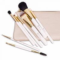 Набор кистей для макияжа Ducare 8 шт + клатч 12355778787, КОД: 157354