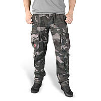 Брюки Surplus Airborne Slimmy Trousers Beige BLACK CAMO L Комбинированный 05-3603-42, КОД: 1381905