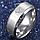 """Кольцо из нержавеющей стали """"Супермен"""", серебристое анодирование, 1359КЖ, фото 2"""