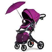 Универсальная коляска 2в1 DSLAND V8 Black-Purple Фиолетовый DSV8BPR, КОД: 1286880
