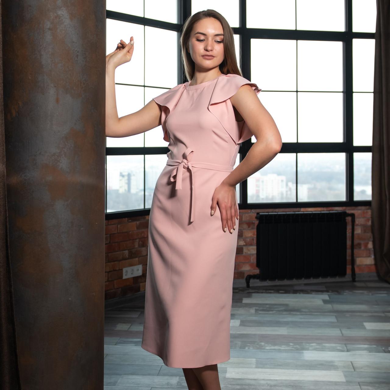 """Платье """"Леди"""" с крылышками, Розовый цвет"""