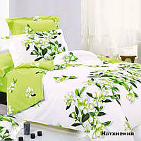 Комплект постельного белья Вилюта Натхнення евро Салатовый с белым hubnOYp96383, КОД: 1384042
