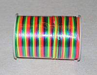 Атласный шнур 2,5 мм радужный  20292, фото 1