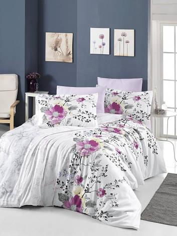 Комплект постельного белья First Choice Satin Gilda 160х220х2 Семейный, фото 2