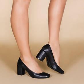 Туфлі жіночі на середньому каблуці розміри 36-41, фото 2