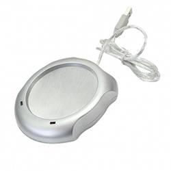 Подставка с USB подогревом для чашки Серебристый al115723, КОД: 1528605