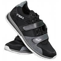 Кроссовки мужские спортивные V`Noks Boxing Edition Grey 40 размер черный с серым, фото 1