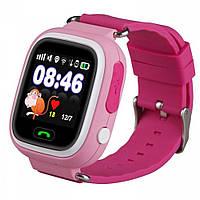 Детские смарт-часы с GPS трекером Smart Watch Q90s Pink 100225, КОД: 149154
