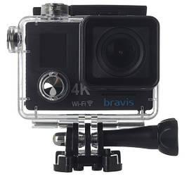 Экшн-камера BRAVIS A5 Черная 6284939, КОД: 1493638