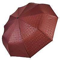 Автоматический зонт Три слона Бордовый 333-3, КОД: 1324925