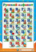Плакат Ранок 0127. Русский алфавит 12104097Р 227761, КОД: 722066