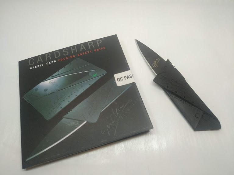 Раскладной Нож  Кредитка Визитка Card-Sharp