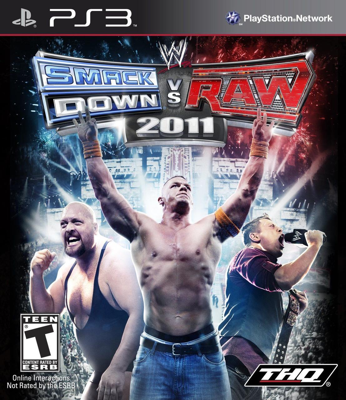 Игра для игровой консоли PlayStation 3, WWE SmackDown vs. Raw 2011 (БУ)