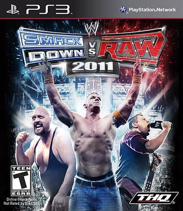 Игра для игровой консоли PlayStation 3, WWE SmackDown vs. Raw 2011 (БУ), фото 2
