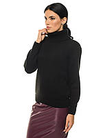Классический женский свитер SVTR 44-46 Черный 440, КОД: 1393743