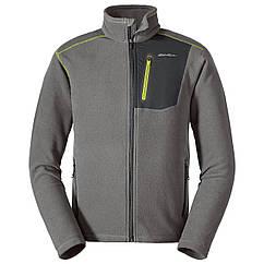 Кофта Eddie Bauer Men Cloud Layer Pro Full-Zip Jacket CHROME XL Серая 0029CH-XL, КОД: 271058