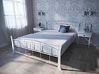 Кровать MELBI Летиция Вуд Двуспальная 140200 см Белый КМ-006-02-8бел, КОД: 1456833