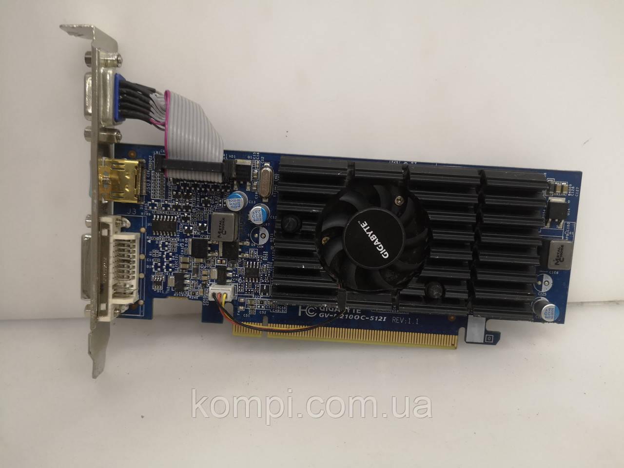 Видеокарта NVIDIA GeForce 210 512 MB PCI-e HDMI