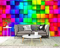 3д фотообои Цветная мозаика