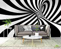 3д фотообои Чернобелая абстракция