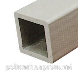 Труба полипропиленовая PP, квадратная, 50мм x 50мм, стенка 4мм, длина 5м