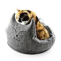 Домик для животных Digitalwool Котэ с подушкой DW-91-15-1, КОД: 218805