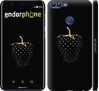Пластиковый чехол Endorphone на Huawei P Smart Черная клубника 3585m-1346-26985, КОД: 1391007