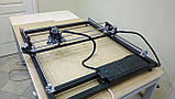 Лазерный гравер с ЧПУ, лазерный станок, гравировальный станок 7 Вт, поле 65*65 см, фото 2