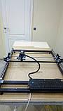 Лазерний гравер з ЧПУ, лазерний верстат, гравірувальний верстат 7 Вт, поле 65*65 см, фото 3