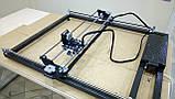 Лазерний гравер з ЧПУ, лазерний верстат, гравірувальний верстат 7 Вт, поле 65*65 см, фото 4