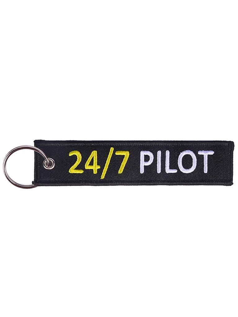 Брелок бирка 24/7 Pilot Черный