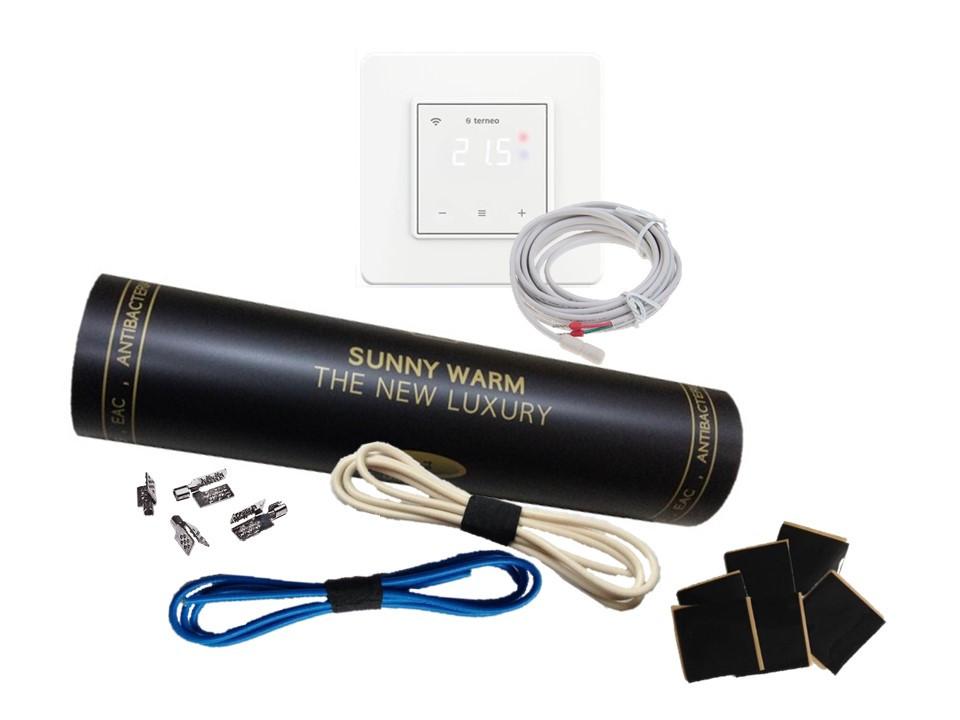 Готовый комплект с сенсорным регулятором Тerneo S (4.5м2) SUNNY WARM ( Премиум)