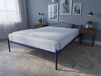 Кровать MELBI Лара Двуспальная 120х190 см Ультрамарин, КОД: 1389714