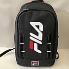 Рюкзак туристический, молодежный 30х41 см Серый