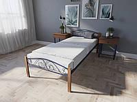 Кровать MELBI Элис Люкс Вуд Односпальная 80190 см Ультрамарин КМ-018-01-1уль, КОД: 1395862