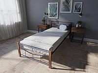 Кровать MELBI Эмили Односпальная  90200 см Ультрамарин КМ-011-01-2роз, КОД: 1398125
