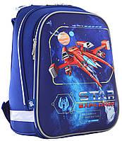 Рюкзак шкільний каркасний 1 Вересня H-12 Star Explorer Синій 555960, КОД: 1247897