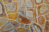 """Колотый сланець брекчия """"Золотая Вишня"""" Болгарии KLVIV 0.5м.кв"""
