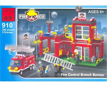 Конструктор типа Лего BRICK 910 Пожарная тревога
