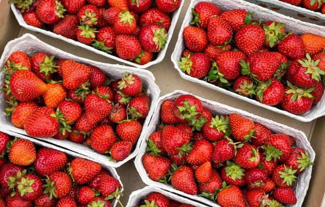 упаковка для ягод клубники фото