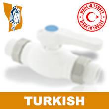 Кран Шаровый Двухсторонний Turkish Ø 20