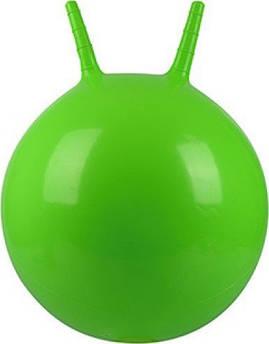 Мяч для фитнеса с рожками MS 0938 ( 0938(Green) Зелёный)