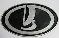 Антискользящий силиконовый коврик на торпедо с логотипом Lada
