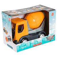 """Игрушечная машинка Авто """"Tech Truck"""" 39477 (Бетономешалка)"""