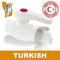 Кран Шаровый Односторонний Turkish Ø 20