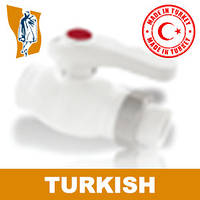 Кран Шаровый Односторонний Turkish Ø 25