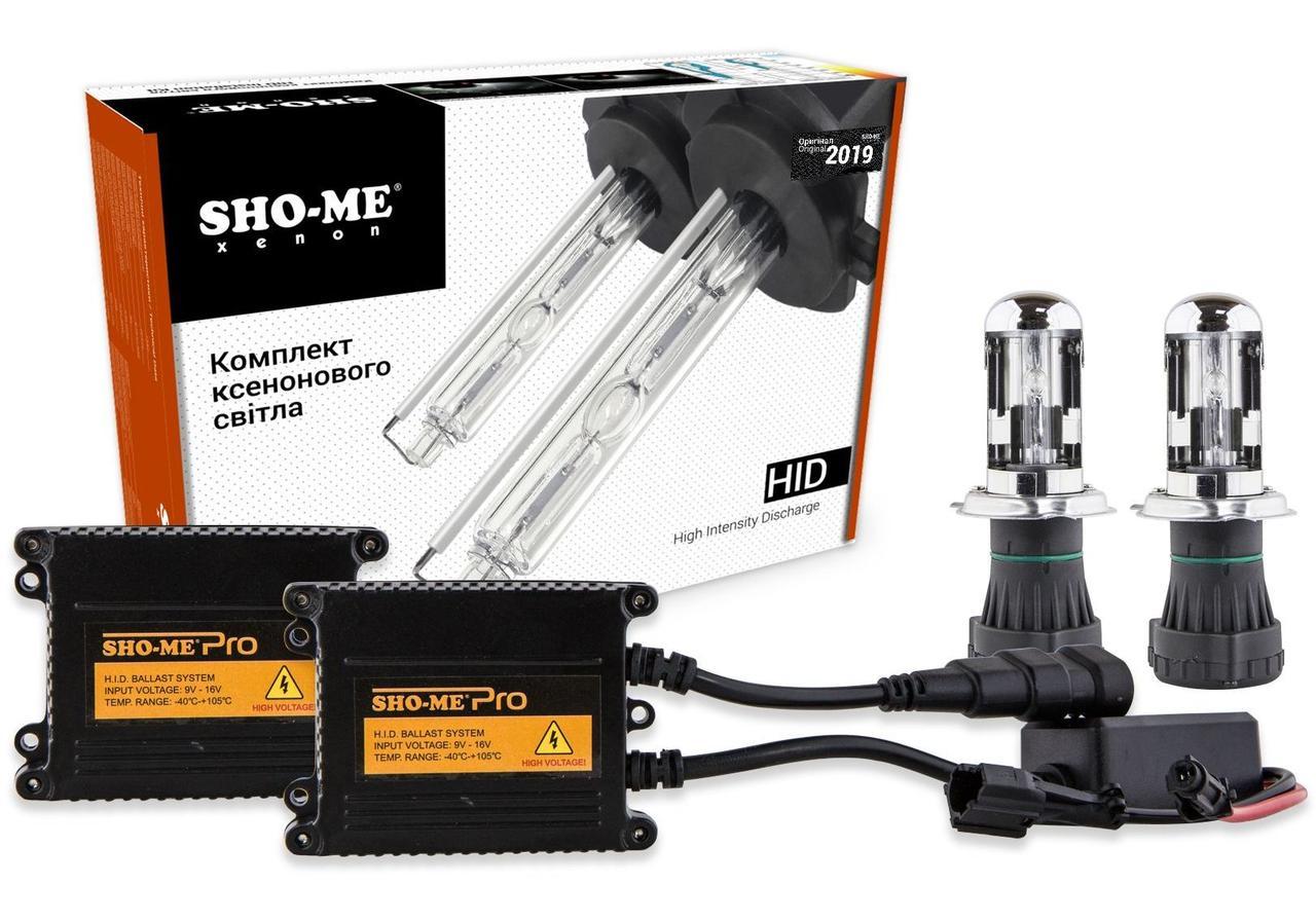 Комплект биксенона Sho-Me Ultra H4 H/L 4300K 35W