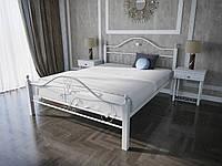 Кровать MELBI Патриция Вуд Двуспальная 140200 см Белый КМ-001-02-4бел, КОД: 1405953