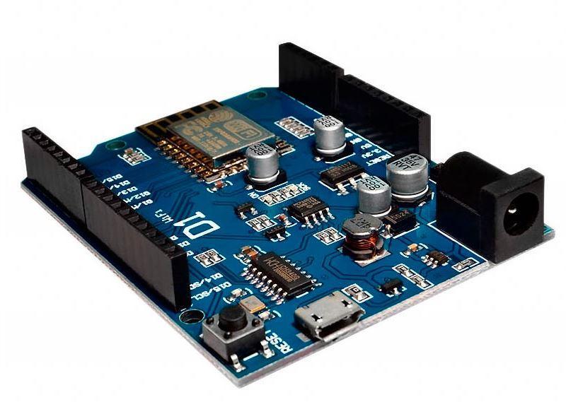 Модуль UNO R3 ESP8266 WiFi shield ESP-12E WeMos D1. Плата Arduino со встроенным WIFI модулем