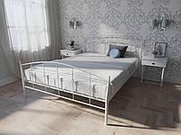 Кровать MELBI Летиция Двуспальная 140200 см Белый КМ-007-01-8бел, КОД: 1455736